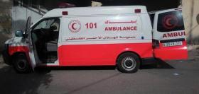إصابة 3 مواطنين في حادث سير جنوب غزة