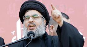 """نصر الله: الحرب على إيران ستشعل المنطقة وواجبنا اسقاط """"صفقة القرن"""""""