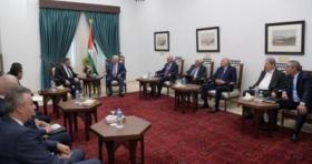 حاملاً رد حماس.. الوفد المخابرات المصرية يلتقي الرئيس عباس برام الله