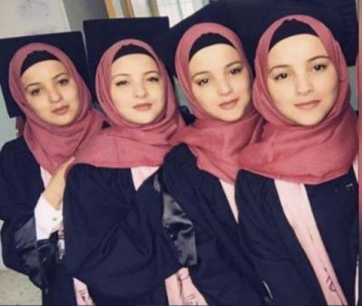 4 شقيقات من جنوب القدس يتفوقن بالتوجيهي
