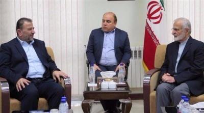 وفد من حماس برئاسة العاروري يزور إيران الأسبوع المقبل
