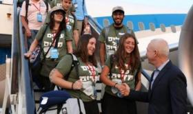 """وصول 242 مهاجرًا يهوديًا من أمريكا إلى """"إسرائيل"""""""