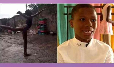 رقصة طفل حافي القدمين بنيجيريا تقوده للاحتراف في الولايات المتحدة (فيديو)