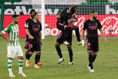 بطولة إسبانيا.. ريال مدريد ينجو من الخسارة امام بيتيس