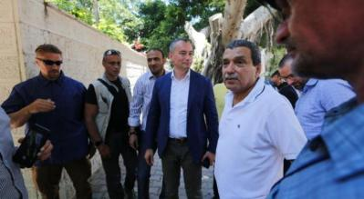 ملادينوف: السلطة الفلسطينية مهددة واتفاقها مع حركة حماس تطور مهم