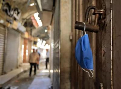 """""""مباحث كورونا بغزة"""" تُغلق 58 محلًا ومنشأة وتوقف 43 مواطنا مخالفا"""