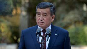 """رئيس قرغيزستان يعلن """"استعداده لترك منصبه"""""""