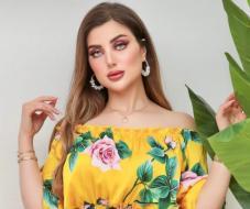 شاهد اطلالات عارضة الأزياء الحسناء المغربية سارة العمراني