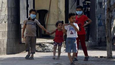 وفاة و310 إصابات بفايروس كورونا في قطاع غزة