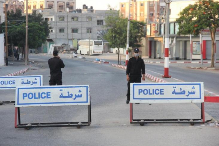 الداخلية بغزة تؤكد استمرار إجراءاتها الوقائية منعًا لتفشي فيروس