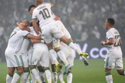 المنتخب الجزائري يبلغ نهائيات كأس أمم إفريقيا (فيديو)
