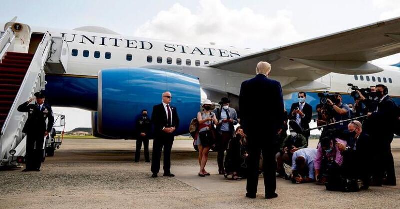 ترامب يتعهد بمواصلة الكفاح ومعاركه القانونية