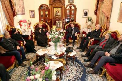 حماس: المسيحيون بقلب النسيج الوطني ونفتخر بعلاقتنا بهم