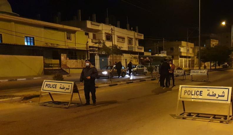 غزة.. الأجهزة الأمنية توقف 1464 مخالف في اليوم الأول من الحظر
