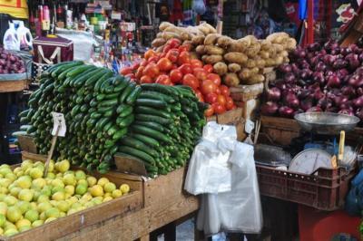 أسعار الخضروات والفواكه واللحوم في أسواق غزة