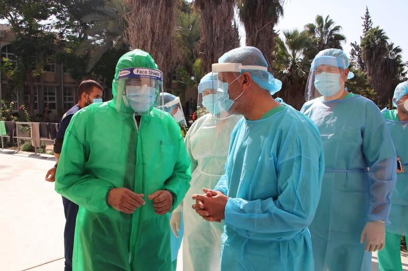 الصحة بغزة: 7 حالات وفاة و728 إصابة جديدة بفيروس (كورونا)