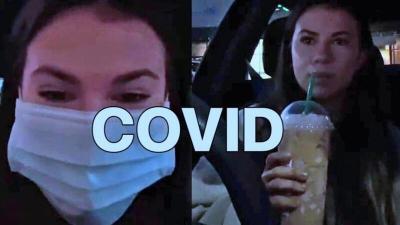 شاهد اليوم- أميركية تكتشف إصابتها بـ (كورونا) وهي تبث الفيديو مباشرة