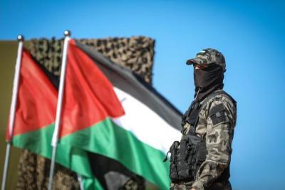 الفصائل المسلحة تخلي راياتها الحزبية من المناورات بغزة على ضوء تعثر المصالحة