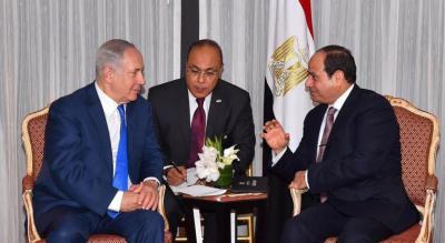 سيستقبله في المطار ... نتنياهو يتلقى دعوة رسمية من السيسي لزيارة القاهرة