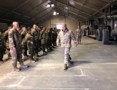 """قائد القوات الأمريكية في الشرق الأوسط: واشنطن سترد إذا هاجمتها إيران انتقاما لـ """"سليماني"""""""