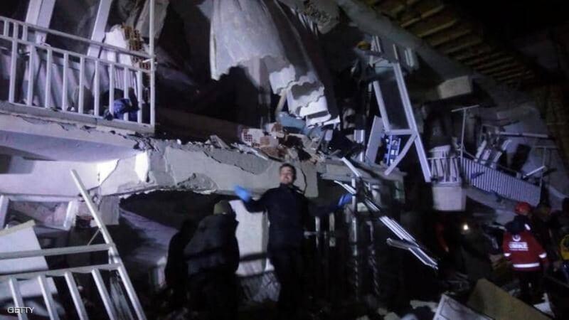 زلزال قوي يهز شرقي تركيا