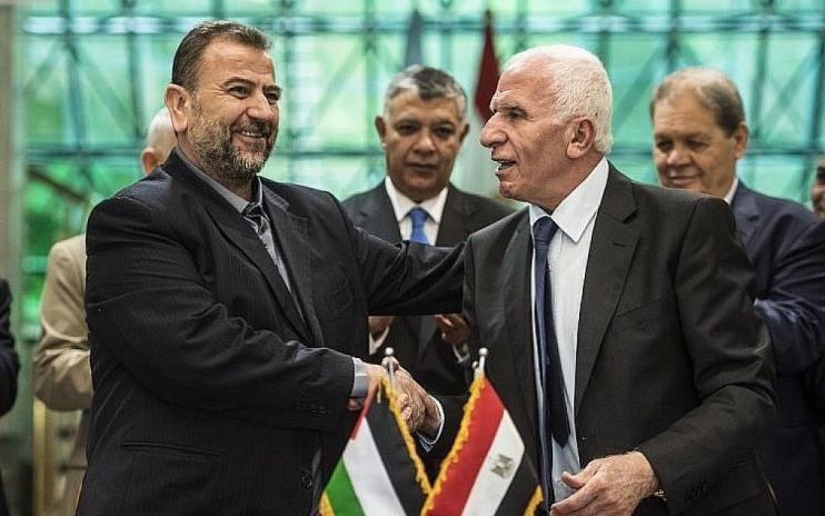 حماس تكشف عن خطوتين لإنهاء الانقسام الفلسطيني وتحقيق المصالحة