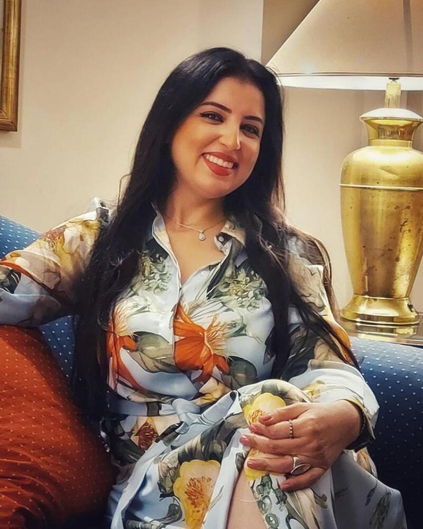الفنانة المصرية نهى صالح