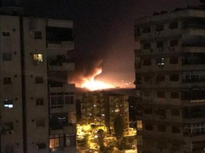 16 قتيلا في هجوم جوي إسرائيلي جديد على سوريا