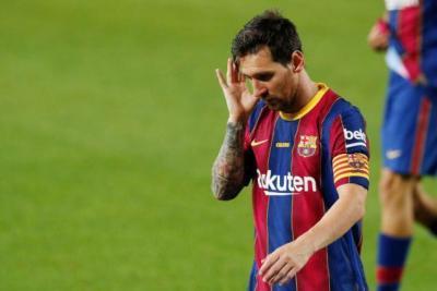 ميسي يغيب عن برشلونة ضد ريال سوسيداد