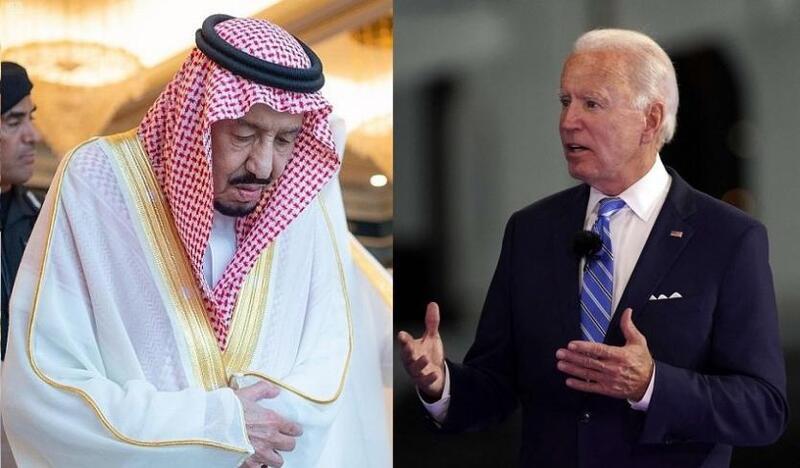 بايدن يكشف تفاصيل المكالمة المنتظرة مع العاهل السعودي