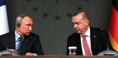 تقرير: أردوغان يدفع بتركيا نحو روسيا والصين لمواجهة عقوبات الغرب