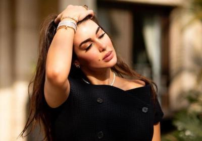 شاهد| شبيهة ياسمين صبري عارضة مغربية.. وهل ستنافسها بالتمثيل؟