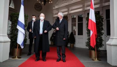 """رئيس إسرائيل من النمسا: """"نحتفظ بحق الرد على تهديدات إيران"""""""