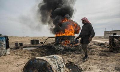 موسكو تبدأ سحب بساط النفط شرقي سوريا من طهران