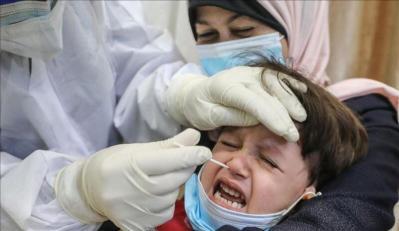 غزة : حالة وفاة و1061 إصابة بكورونا خلال 24 ساعة الماضية