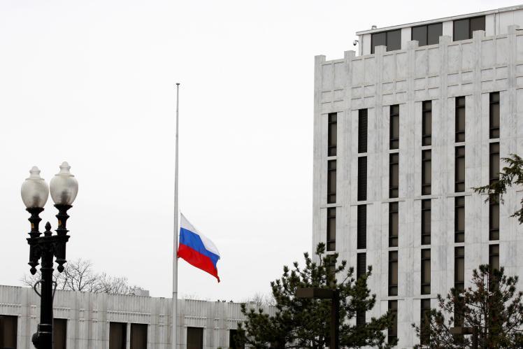 أمريكيون يعتذرون للسفارة الروسية عن تصريحات رئيسهم بايدن