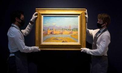 """بيع لوحة """"مراكش لتشرشل"""" بأكثر من ثمانية ملايين يورو"""