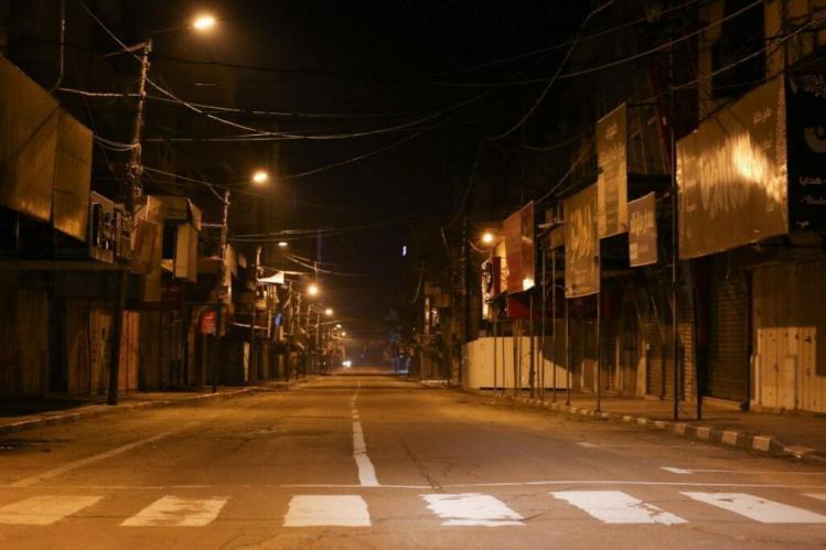تنويه هام من الداخلية بغزة للمواطنين بشأن الاغلاق الليلي