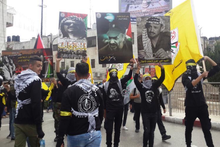 استطلاع للرأي العام يُظهر تقدم شعبية فتح على حماس
