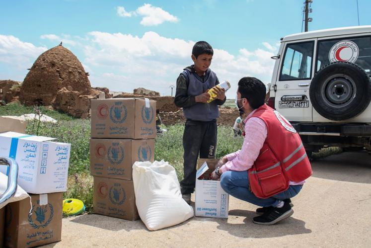 سارع بالتسجيل.. برنامج الأغذية العالمي يوسع نطاق تقديم المساعدات الغذائية
