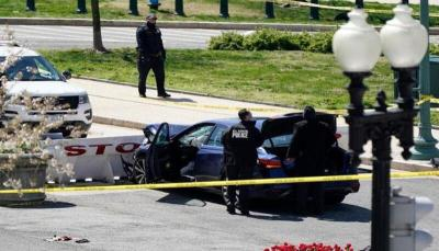 إغلاق وطوارئ بعد دهس شرطيين أمام الكونجرس.. ومقتل المنفذ