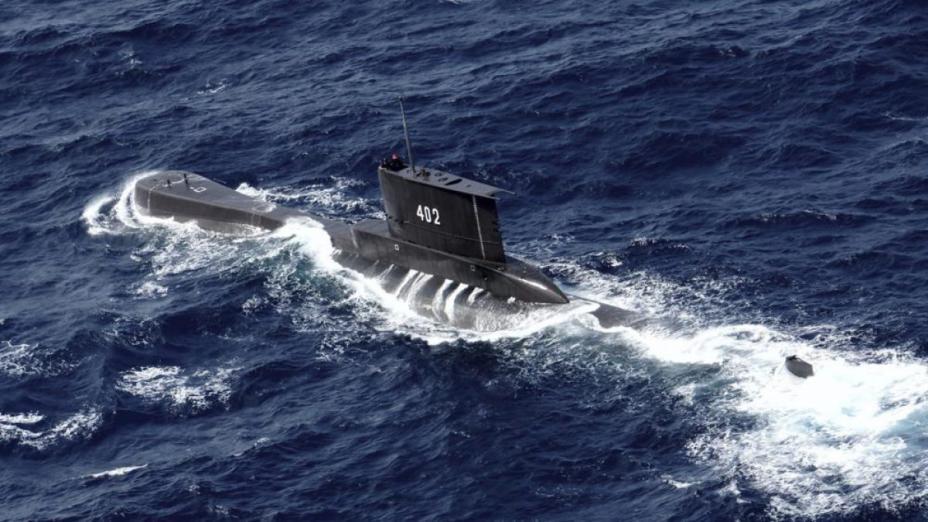 الجيش الإندونيسي يعلن العثور على حطام الغواصة الغارقة