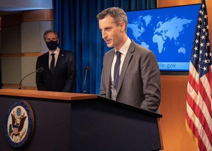 الناطق الرسمي باسم وزارة الخارجية الأميركية، نيد برايس
