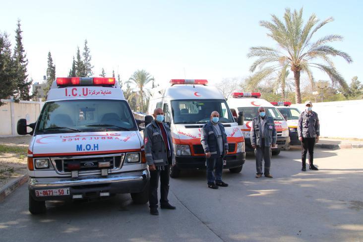 تحديث الخارطة الوبائية لمصابي (كورونا) في قطاع غزة
