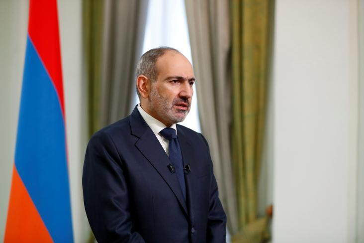 رئيس الوزراء الأرميني نيكول باشينيان