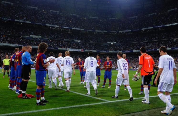 ريال مدريد يتفوق على برشلونة في سباق السرعات بـ