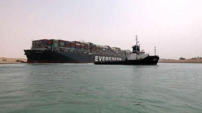 """مصر ما تزال تحتجز سفينة """"إيفر جيفين"""" وتطلب دفع هذا للسماح لها بالإبحار"""