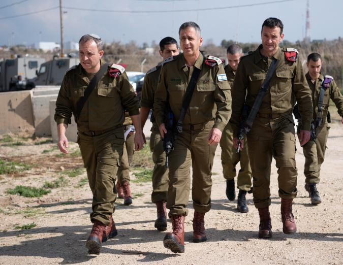 اجتماع لرئاسة أركان الجيش الإسرائيلي لتقييم الأوضاع الأمنية بغزة