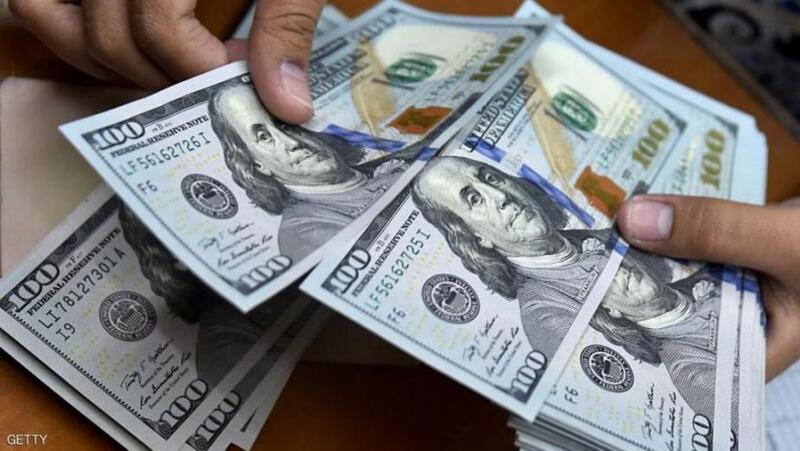 هبوط حاد في سعر الدولار