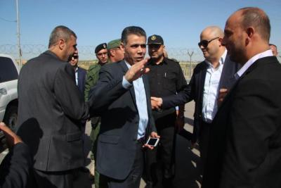 الوفد الأمني المصري يصل قطاع غزة عبر معبر بيت حانون